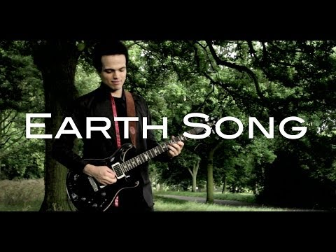 Michael Jackson - EARTH SONG - Guitar Cover by Adam Lee