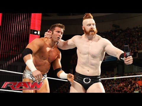 Zack Ryder vs. Sheamus: Raw, April 20, 2015