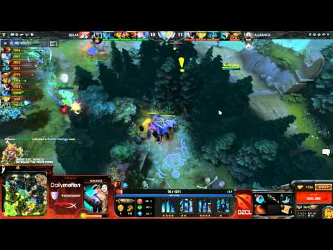 Alliance vs Relax Game 1 Dota 2 Champions League Capitalist & Ar1se