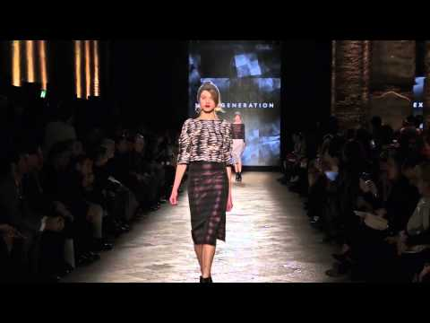 Next Generation fashion show women's collection Fall Winter 2014/15